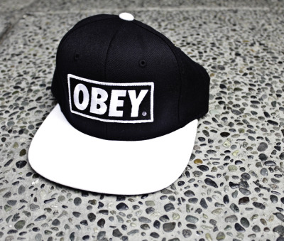 Obey-so fresh, so clean.