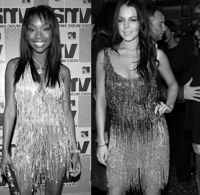 Lindsay Lohan copies Brandy