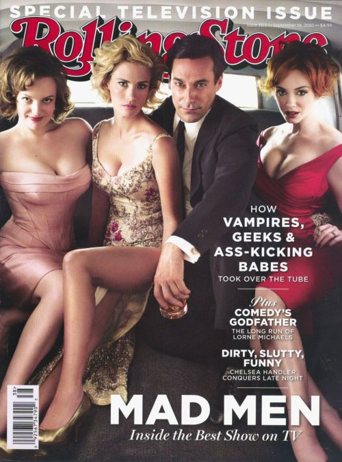 Rolling Stone: Mad Men Cover