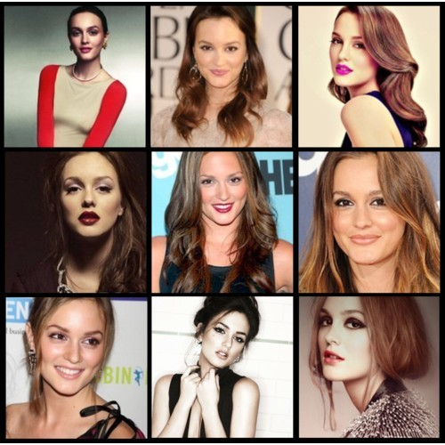 CHAMELEON: Leighton Meester Just in case I haven't yet convinced you of the impact that hair and makeup can have on your look, take a peek at the images of Leighton Meester above. It's proof that style can be transformed with one swipe of lipstick or dramatic eyes! I love that Leighton isn't afraid to experiment with different looks: from a bold lip teamed with a coiffed mane to heavily lined eyes and bed hair, she's a shining example of how to have fun with beauty!