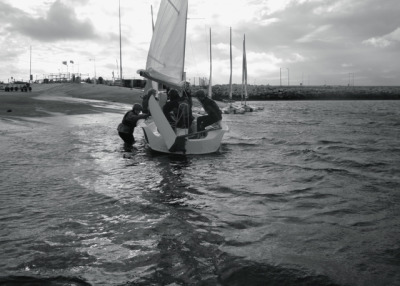 We went to sail in Weymouth last Saturday, part of our 2012 taster session!