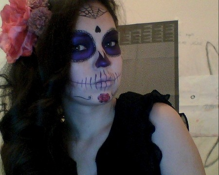 it was my halloween look, i spent on it about 1,5 hour, but i had so much fun. and i'll post other pics later