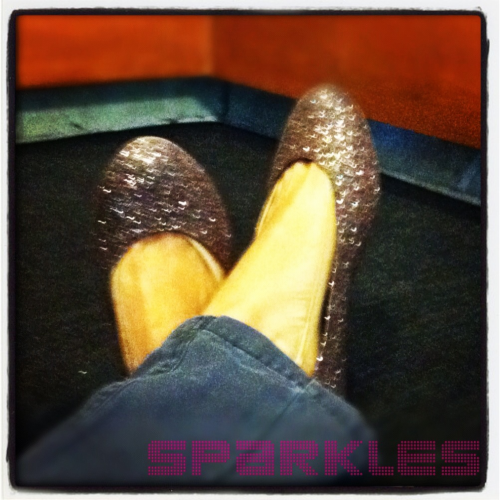 'Tis the season for sparkles
