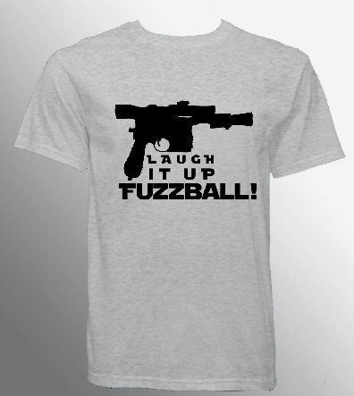 geekymerch:  (via Laugh it Up FUZZBALL Star Wars Han Solo Men's by psychobunnygal)