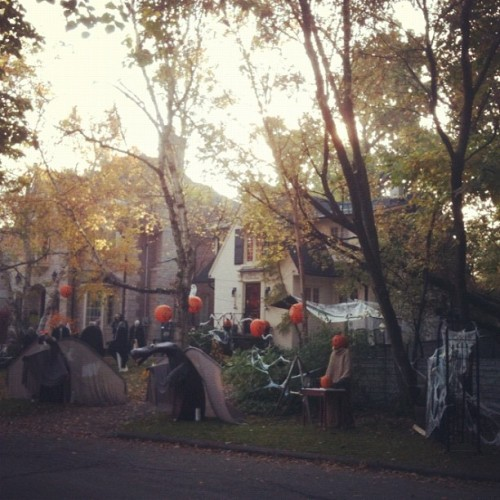 These guys win Hallowe'en 2011. (Taken with instagram)