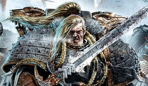thegoldenthrone:  Primarch Leman Russ of the Space Wolves Chapter