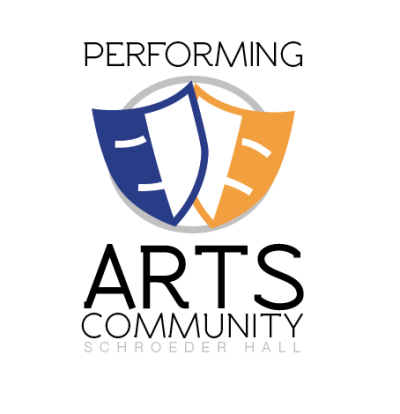 Logo for Marquette University's Performing Arts Community