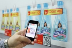 P&G takes a page from Tesco's playbook  and lets consumers shop with their phone in the subway in Prague. http://bit.ly/tlROYI