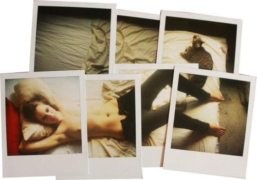 Really wonderful Polaroid collages by Paris' Hana Davies