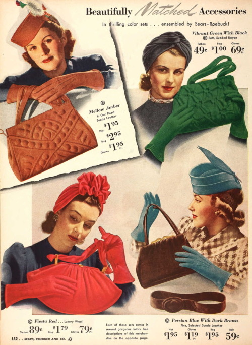 Sears and Roebuck catalog, 1940
