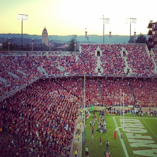 From the reunion archive. (Taken with Instagram at Stanford Stadium)