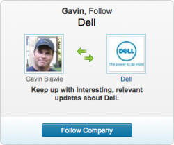 @LinkedIn, your ads lack nuance, relevance via retargeting (I've never once searched for a Dell product or clicked an ad), or any real consumer benefit, but Rosser Reeves would sure be proud. #hopelessadvertising