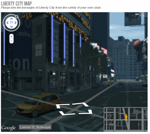 Can a virtual visit of a virtual city be actually real ?