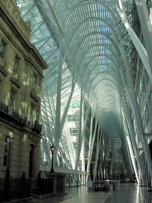 Atrium at King street in Toronto I love my city