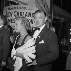 aconversationoncool: Mr & Mrs Gable.