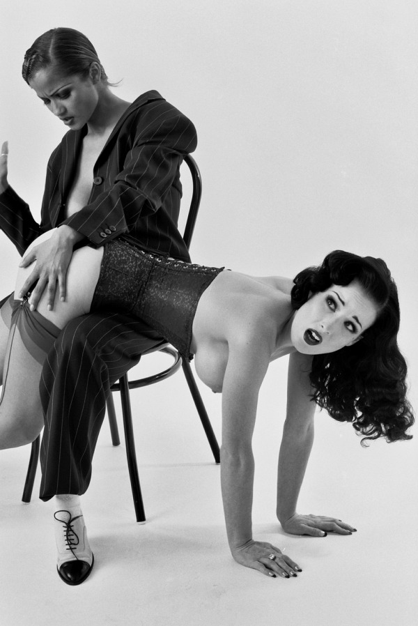 druggysleep:  Dita Von Teese & Alley Baggett