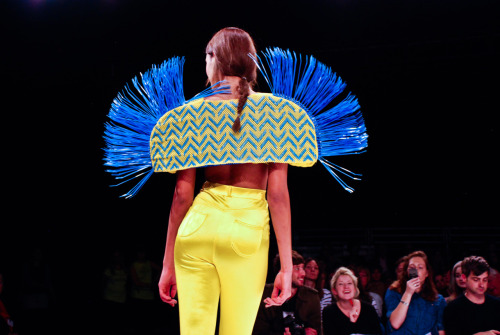 namal: Nicola Chisnall, UWE Bristol at Graduate fashion week 2011. For more see Rebel Magazine's Graduate Collections issue.