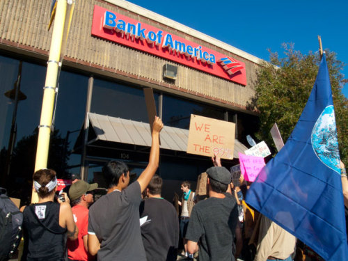 "tyleroakley:  thedailywhat:  Bank Of America Backlash of the Day: Score 1 for the 99: Backlash from consumers has forced Bank of America to ditch its plan to charge a $5 monthly fee on debit card usage. ""We have listened to our customers very closely over the last few weeks,"" said Bank of America Co-Chief Operating Officer David Darnell, ""and recognize their concern with our proposed debit usage fee."" BoA's shares dropped 6 percent in the wake of the announcement. Several banks recently decided to scrap similar test programs, while others canceled existing fees. ""It's a sign of consumer power in action,"" Norma Garcia of Consumers Union was quoted as saying. ""This is a sign of the marketplace working.""  This is so important. As a consumer, you have so much power. USE IT."