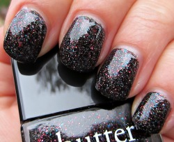 beautylish:  Have you checked out Butter LONDON's new holiday collection? The colors are gorgeous - which shades will you Beauties be trying out? (Shown: The Black Knight) (image via body-soulbeauty)