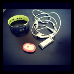 My gadgets for running