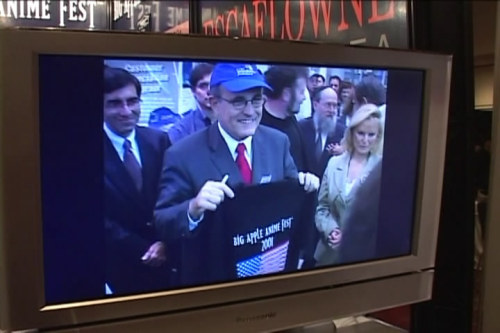 seizeitfairness:  Do you think Rudy Giuliani still has this shirt? And if so, how often does he wear it?  Wow.