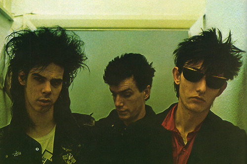 Nick Cave, Mick Harvey and the late Rowland S. Howard from The Birthday Party
