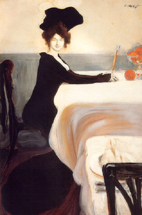 Supper, 1902 Leon Bakst