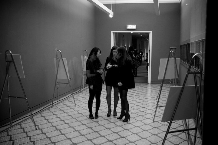 Guests at our Spring 2011 fashion show