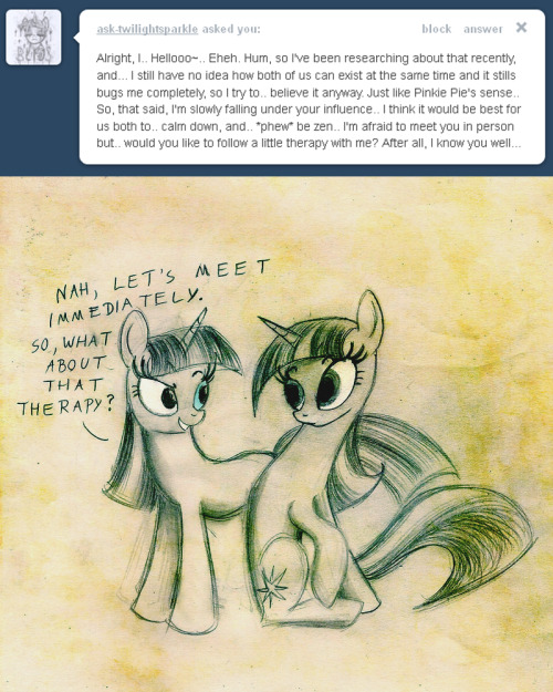 friendlytwilight:  The fun has been doubled!