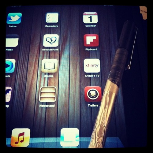 DIY stylus (Taken with instagram)
