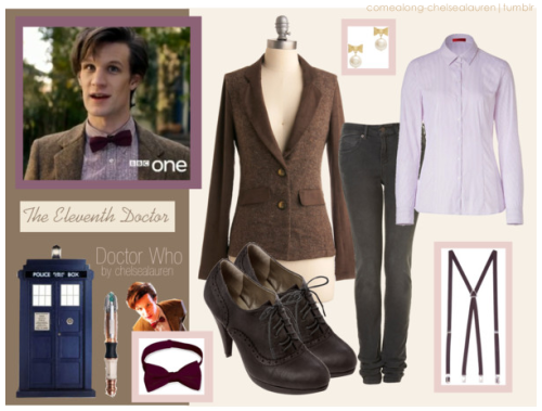 The Eleventh Doctor | Doctor Who - Inspired by The Doctor himself! - Click here!