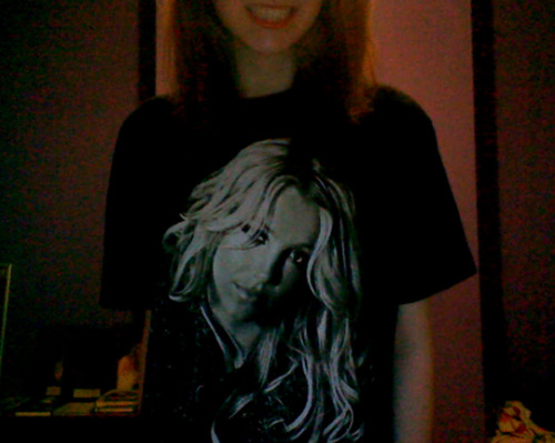 Currently wearing Britney's face.