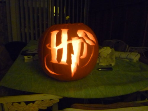 dat is a nice pumpkin, a very potter pumpkin…