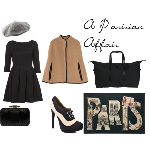 Paris by bostonbliss featuring leather boots