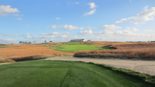 Shots of famed Shinnecock Hills, another Long Island gem, that has one of the most incredible — and recognizable — clubhouses in the world.