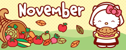 hello-kitty:  Hello November