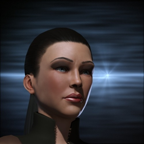 Aeryn: Aeryn showed up in EVE last night! I've got friends!