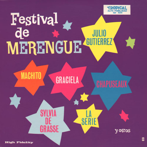 Festival de Marengue, LP cover Source: Project Thirty-Three