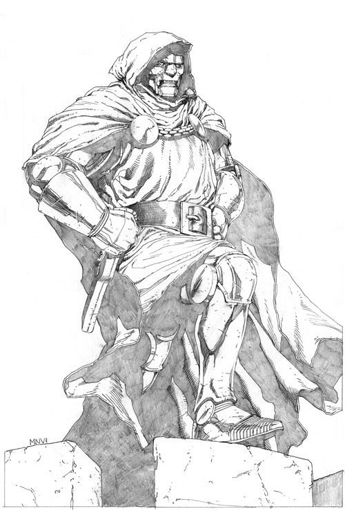 Doctor Doom by Steve McNiven