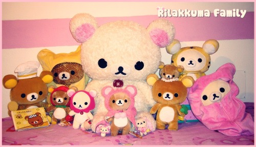 My Rilakkuma&Korilakkuma Collection ♥