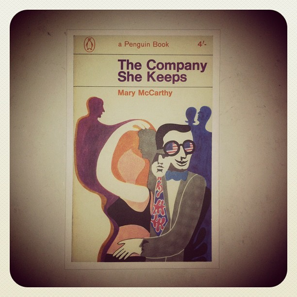 the company she keeps #marymccarthy #penguinbooks #1965 #bookoftheday #buchdestages #lelivredujour #igdaily #instagramers #instamood #instagood #igers #iphoneonly #iphone4 #instadaily #instagramhub #igersturkey #igersistanbul #ig #instago #webstagram #theinstagrampic #gmy #photodujour #bestoftheday #picoftheday #popularpage (Taken with instagram)