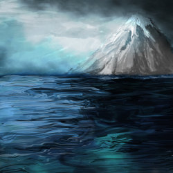 Oceanic Mountain by ~polian