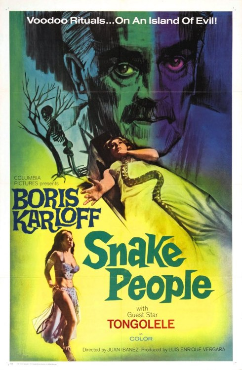 oldfilmposters:  Snake People (1971) Watch Film Here