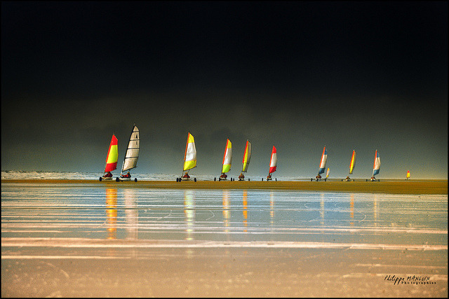 chars à voile en cascade …. by philippe MANGUIN photographies (phil35m) on Flickr.