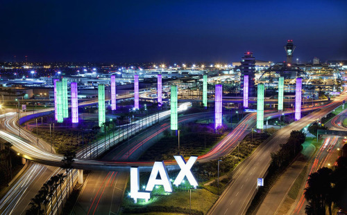 Los Angeles International Airport (LAX) By: Light Galleries