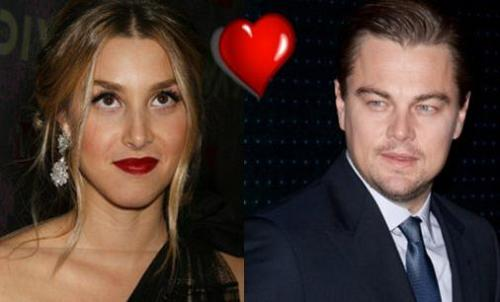 Leonardo DiCaprio wondering if Whitney Port is aware of the heart that's about to attack her.