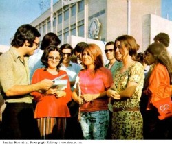 beautiful photos! farsizaban:  Sharif university students, Tehran, 1970s