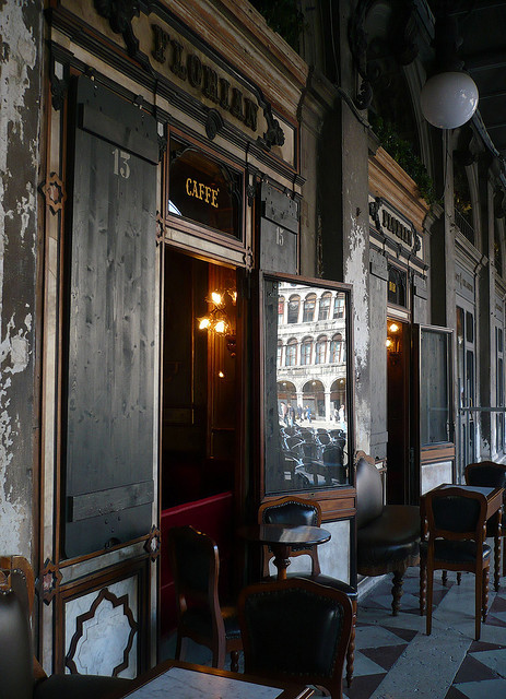 dailyfotojournal:cafe I by j@cqued@nck on Flickr, Caffe Florian, Venice