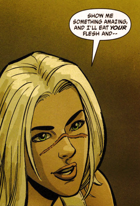 "From ""Y:The Last Man"" by Brian K. Vaughan"