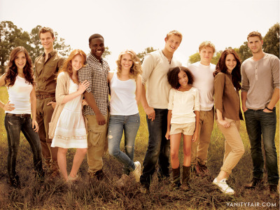 All the tributes of The Hunger Games! This picture is just amazing!